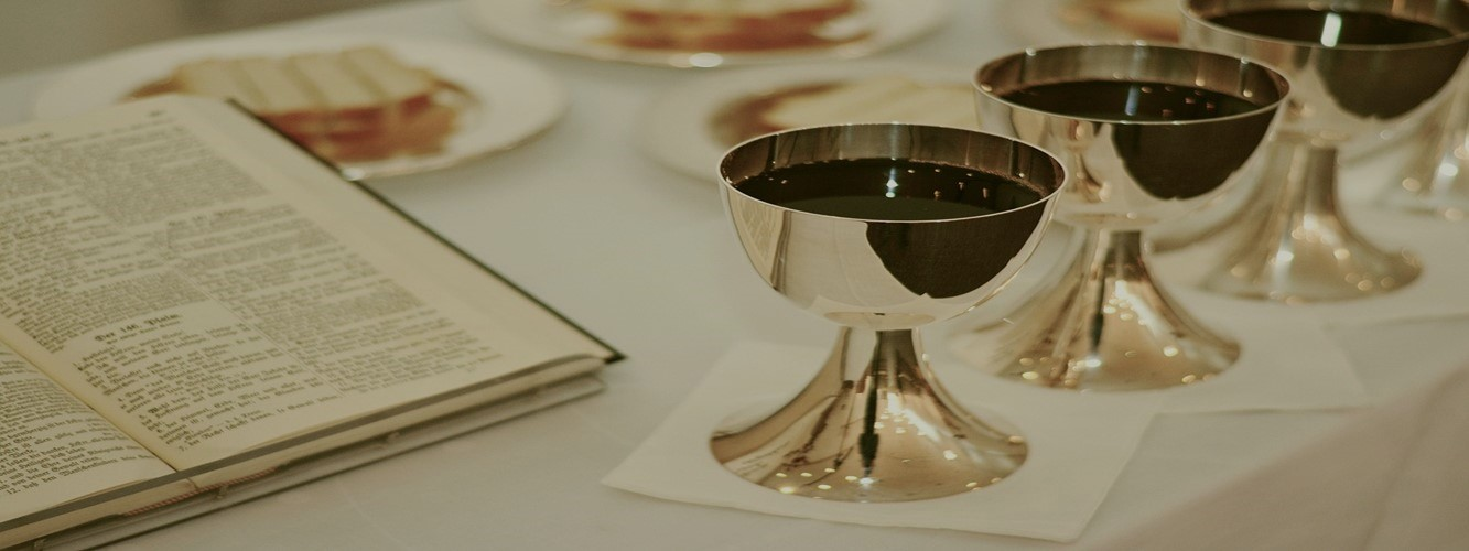 First Thursday*Monthly Communion Service  *DETAILS