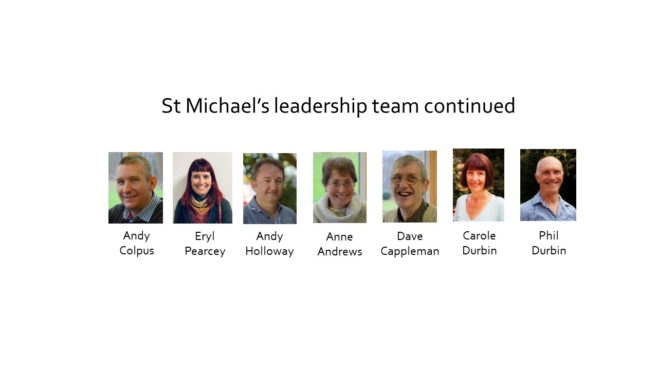 St Michaels leadership team fr